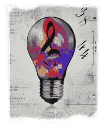 Light bulb colour